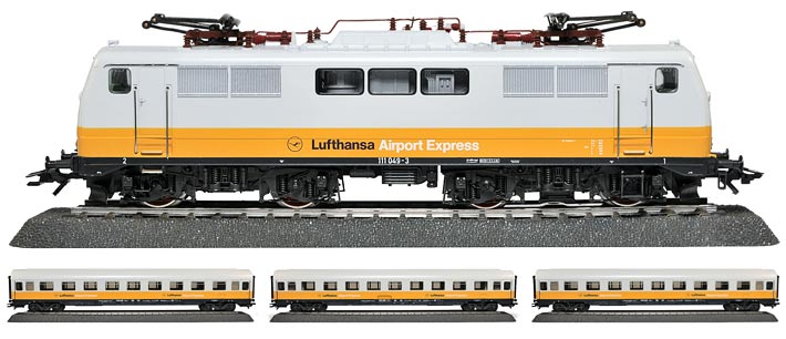 2867 MÄRKLIN | LUFTHANSA AIRPORT EXPRESS TRAIN | Foto: 0rvik
